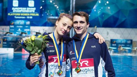 Championnats d'Europe de Plongeon   TEAM EVENT à KIEV